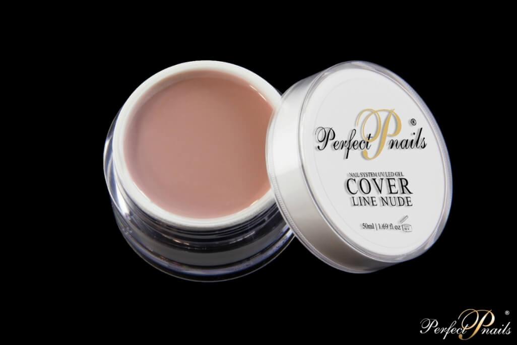UV Gel Cover Candy False Nails Shiny Nude Square Nail Tips