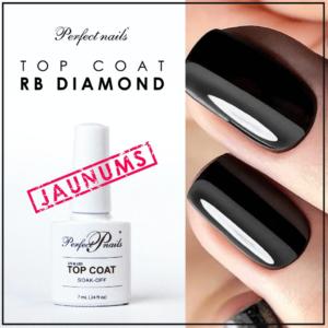 "UV/LED Gēla lakas virskārta ""RB Diamond Top Coat"" | 7 ml"