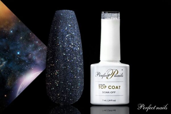 "UV/LED Gēla lakas virskārta ""MERCURY TOP COAT"" 